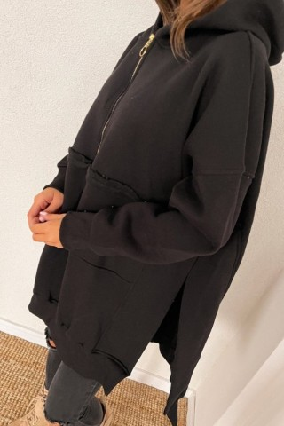 Bluza ocieplana TI 877 Czarna