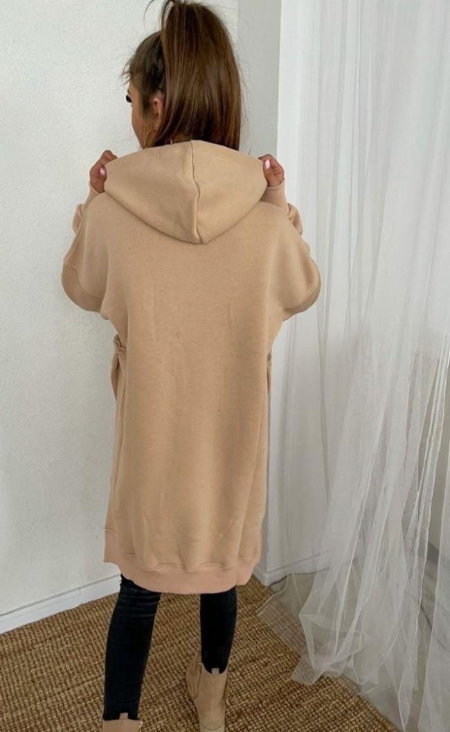 Bluza ocieplana TI 877 Beżowa