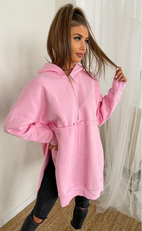 Bluza ocieplana TI 877 Różowa