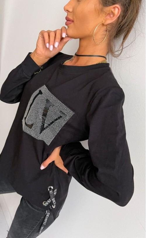 Bluzka LV czarna TK 784